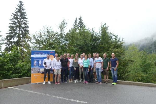 Gruppenfoto Zum Goldenen Zahnkranz 2018