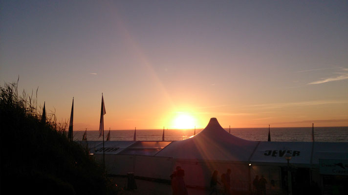 Sunset Sylt