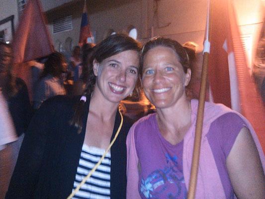 Steffi and Karin