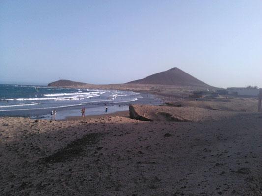 El Medano beach...
