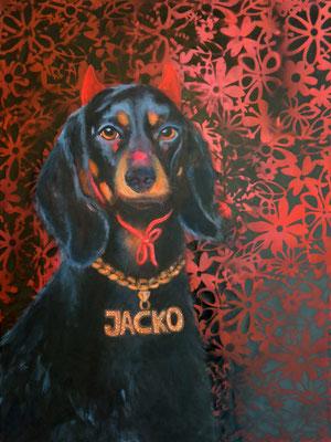 Jacko, 60x80cm, Acryl auf Leinwand