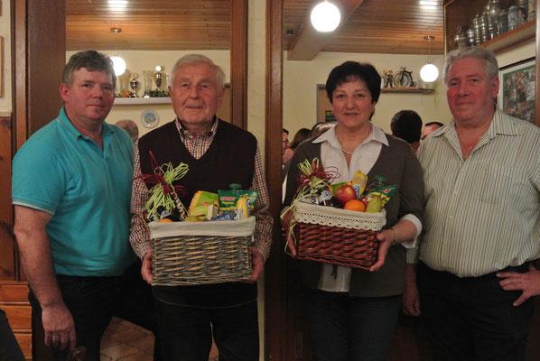 Die Radler Alfons Strähuber und Gaby Biendl fuhren die meisten Kilometer