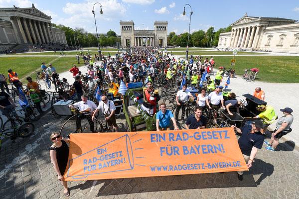 Ein Rad-Gesetz für Bayern!