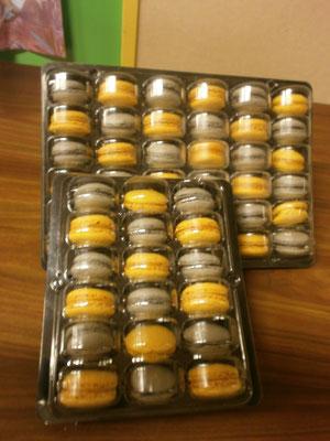 Macarons confectionnés par Isabelle également