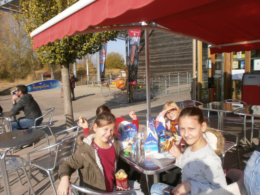 Pique nique et jeux au Parc du petit Prince à Ungersheim