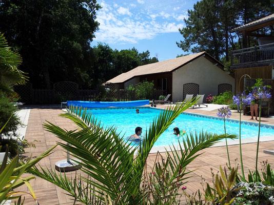 Espace piscine chauffée Club DUNEA