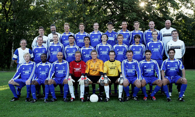 Mannschaft 2004 (Verbandsliga)