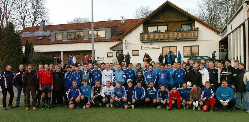 Teilnehmer beim VfL-Turnier