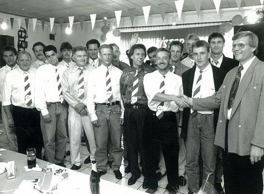 Aufstiegsfeier 1992