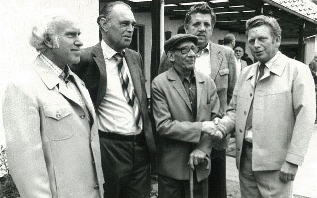 Gratulation im Jahr 1983