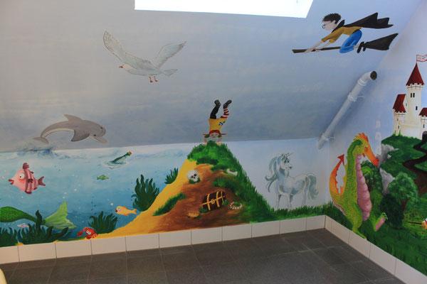 Wandgemälde Grundschule Tönisvorst