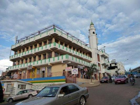 <b>Guillaume RUTEMBESA: Muslimische Moschee im Zentrum Kigalis.</b> Der Großteil der ruandischen Bevölkerung (65 Prozent) gehört dem Christentum an, nur 10 Prozent der Ruander/-innen sind muslimisch.