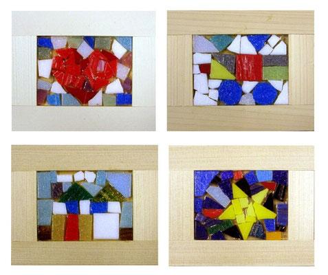 ガラスモザイクの作品例