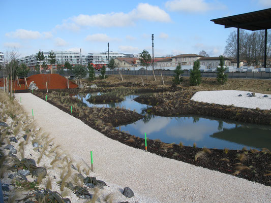 Jardins de la ligne / CHANTIER - DCpaysage
