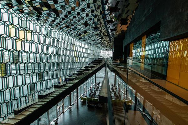Harpa, Konzert- und Konferenzzentrum seit Mai 2011, Reykjavík (März 2014)