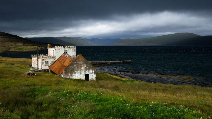 verlassener Hof am Ísafjörður, Westfjorde (September 2011)