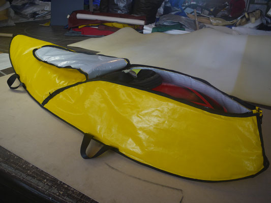 Kayak transport cover