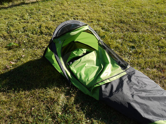 Sleeping bag, collaboration with Decathlon, France