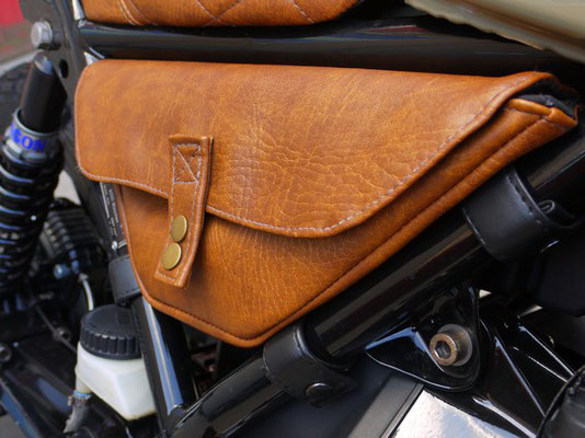 BMW K100 tunnel bag