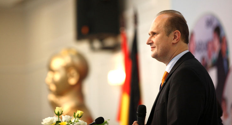Prof. Mallon at the Opening of the Academic Year 2012