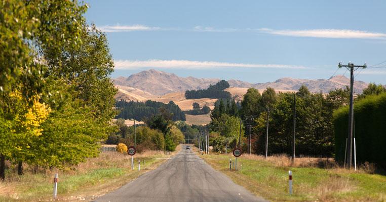 Canterbury foothills