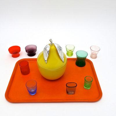 seventies Geschenke icebucket Birne gelb Pop kaufmuseum