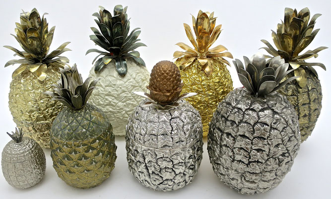 icebucket glamorous sophisticated hollywoodstyle pineapple designclassics mauromanetti turnwald interior festlich festtafel dinnerparty