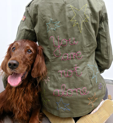 camouflage trendsetter irishsetter ethical fashion transform statement piece message ökomode parka jacke hose military peace love mindfulness designer