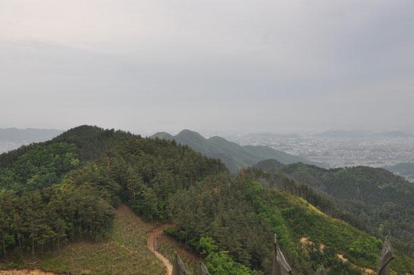いくつかの山を歩ってきました