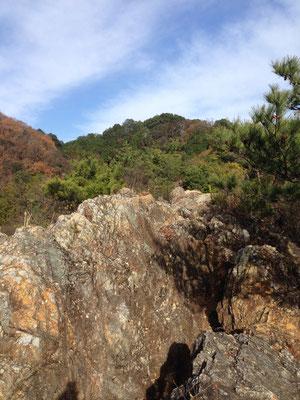 ちょっとした岩場もあって楽しいです