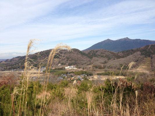 筑波山、いつも見ても癒されます