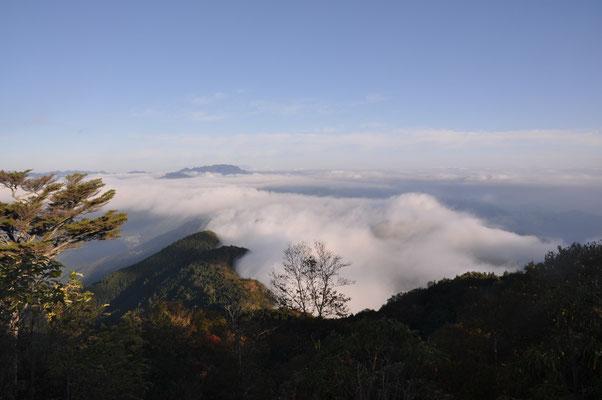 両神山が見えます