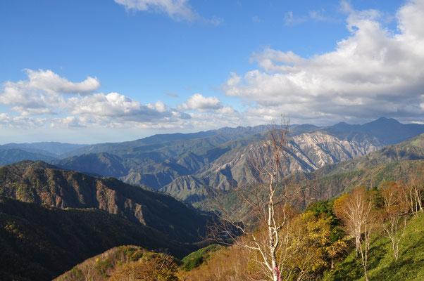 皇海山も望めました
