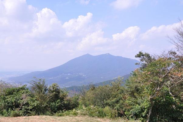 ここから臨む筑波山はいつみても最高です