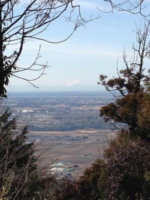 今日はどんと筑波山