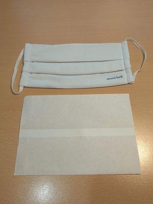 不織布製の袋(幅115×高160mm)