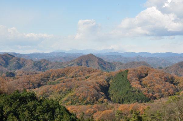 先日登った諏訪岳