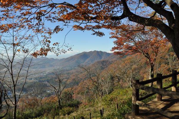 謙信平から眺める山々