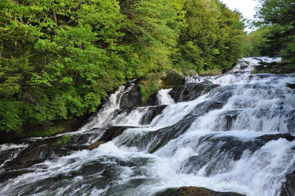 初めての龍頭の滝