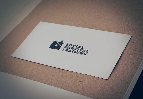 Logodesign, Social Survival Training, Wolfgang Sochor