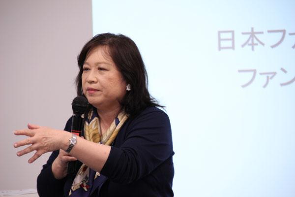 ファンドレイジング教会徳永洋子理事「NPOとファンドレイジング」
