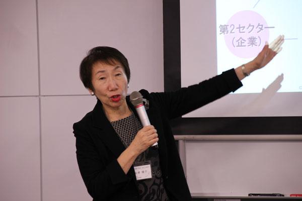 日本フィランソロピー教会高橋陽子理事長「NPOの意義と変遷そして可能性」