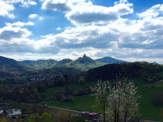 Drei Burgen Blick bei Annweiler