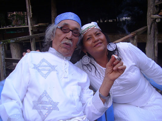 Don Agustin & Marlene im Camp Yushintaita
