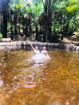 Badefreuden im Camp Charapamama