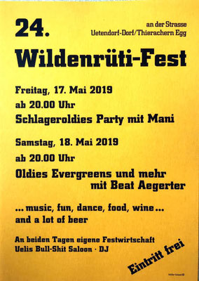 18.05.2019 / Wildenrüti-Fest in Uetendorf BE