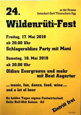 18.05.2019 / Wildenrüti-Fest in Uetendorf BE