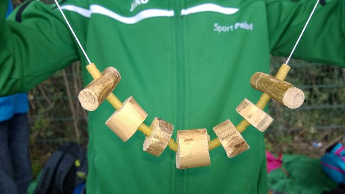 Holzketten sägen