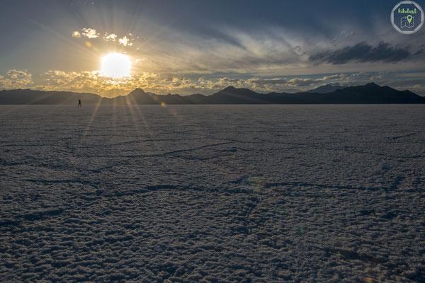 Die Sonne neigt sich dem Horizont entgegen