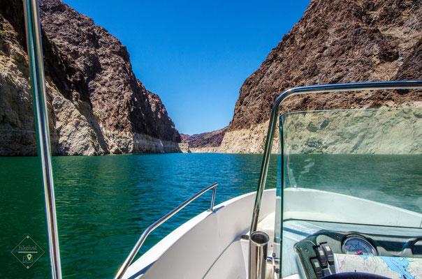 Unterwegs auf dem Lake Mead